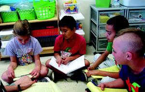 Children in a Writing Workshop
