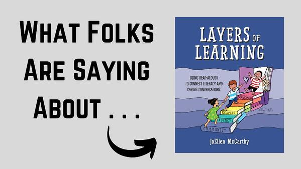 What Folks Are Saying About Layers of Learning