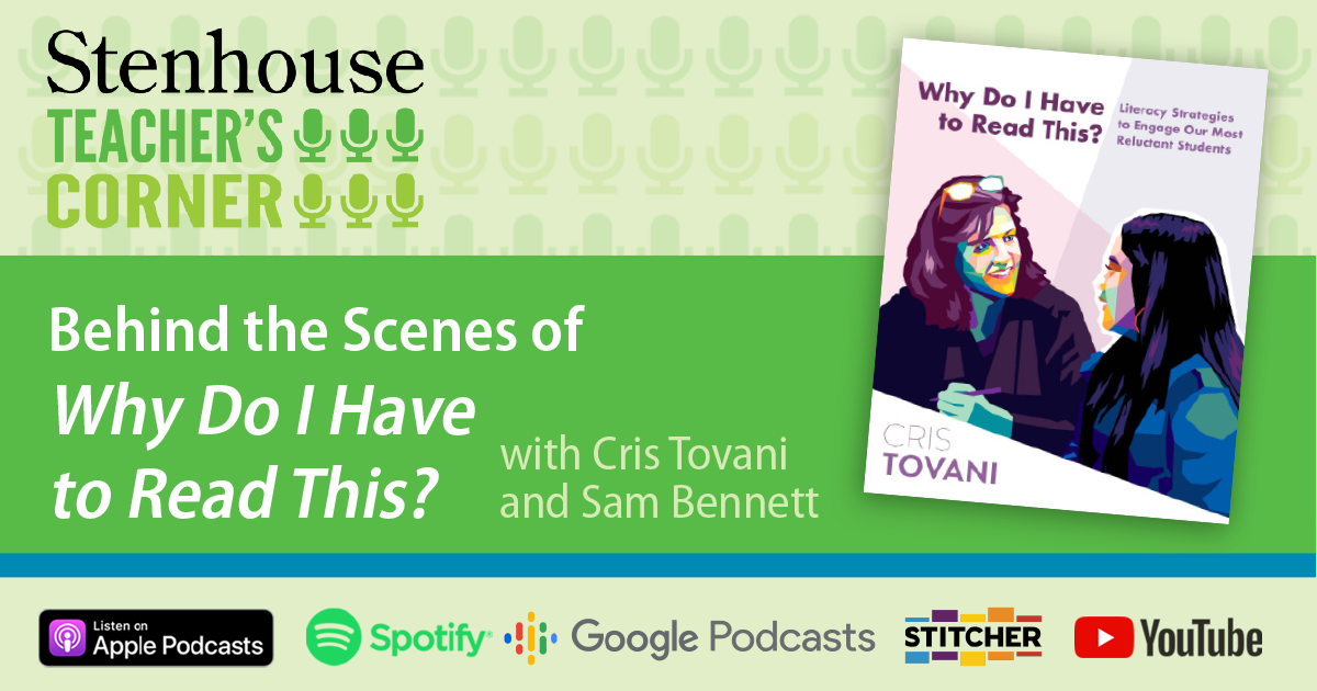PODCAST: Stories from Behind the Scenes of Why Do I Have to Read This?