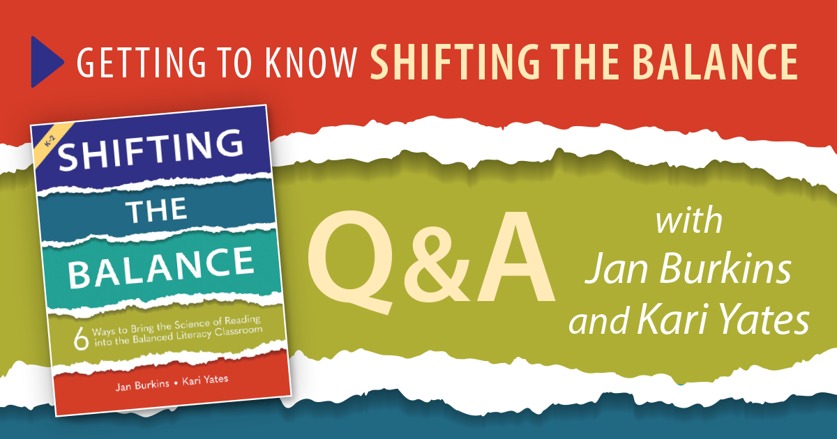 Getting to Know Shifting the Balance: Q&A with Jan Burkins and Kari Yates