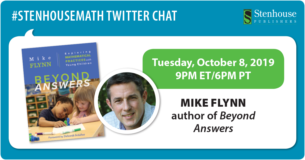 #StenhouseMath Chat with Mike Flynn RECAP