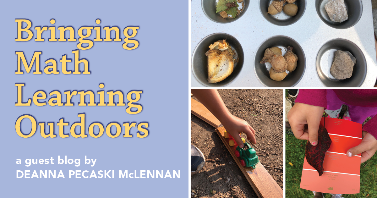 Bringing Math Learning Outdoors