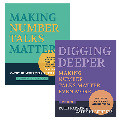 Teacher's Corner Podcast: Number Talks with Cathy Humphreys and Ruth Parker
