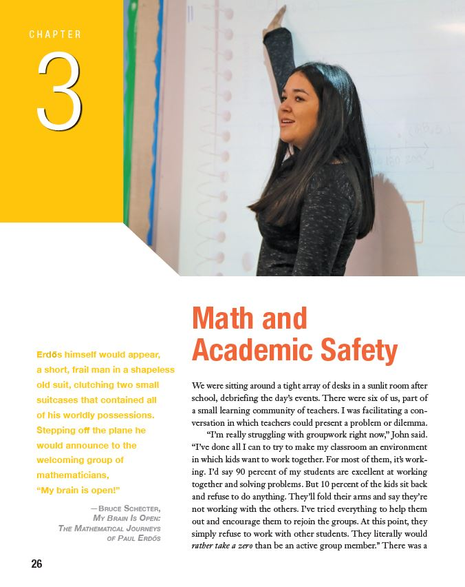 Academic Safety and Math