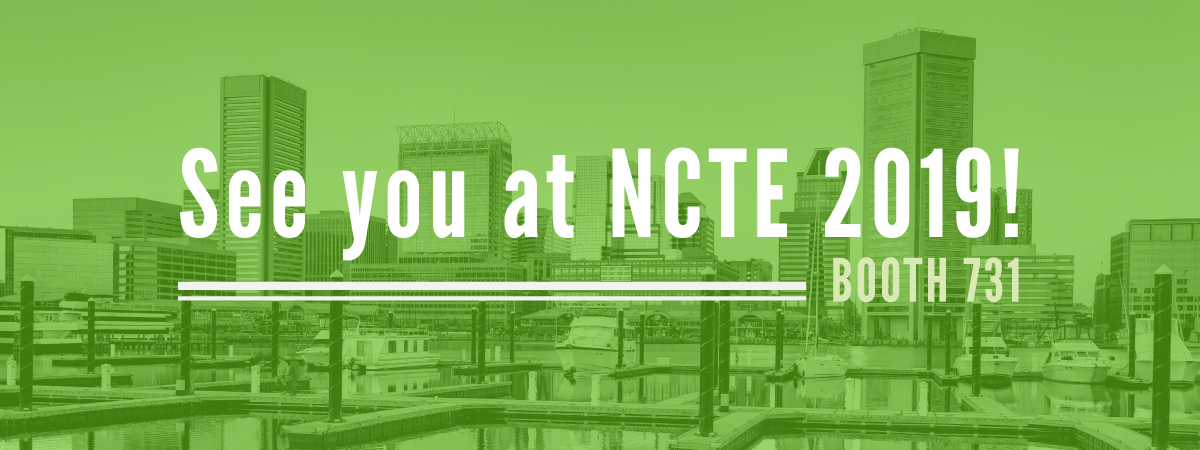 Stenhouse at NCTE, Baltimore 2019!