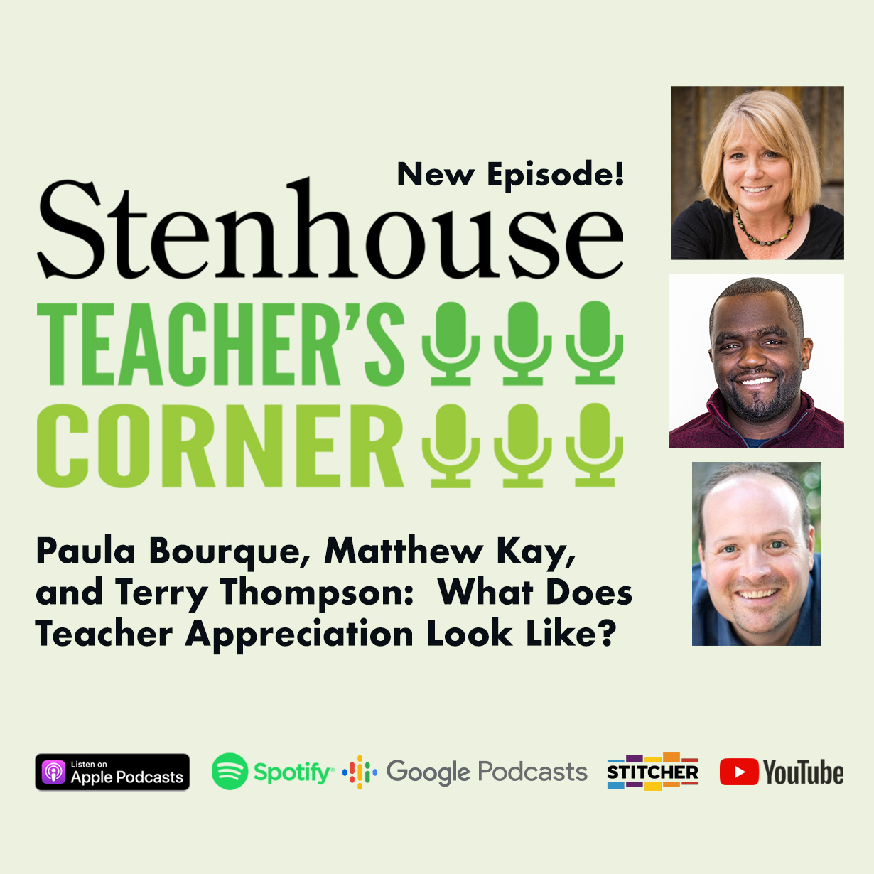 Teacher's Corner Podcast: What Does Teacher Appreciation Look Like?