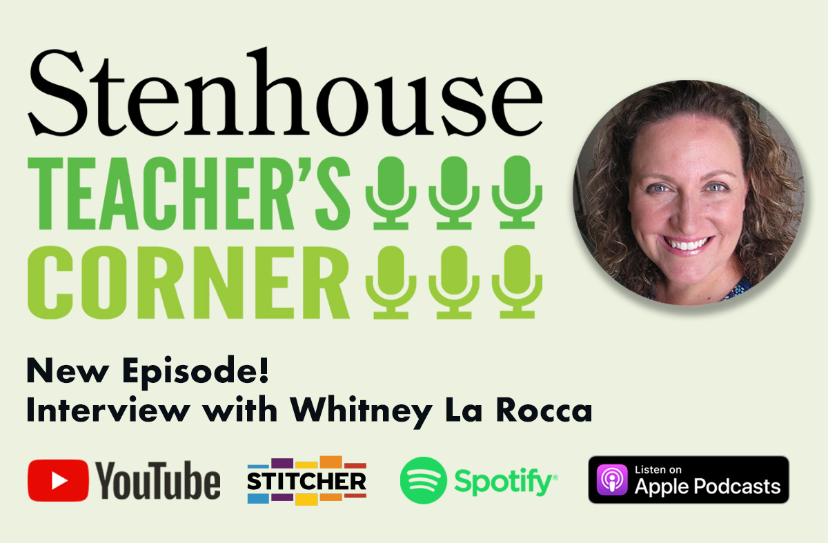 Teacher's Corner: A conversation with Whitney La Rocca