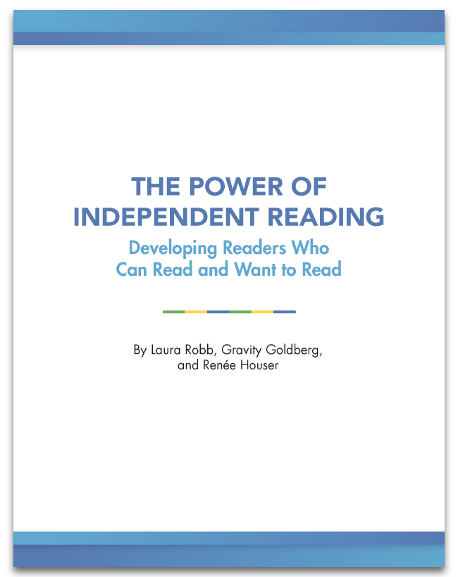 Do your students identify as readers?