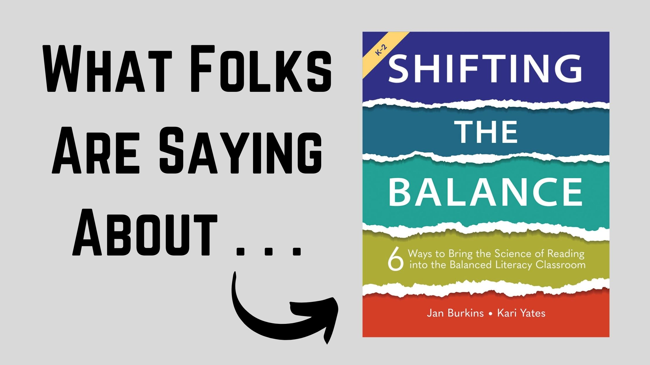 What Folks Are Saying About: Shifting the Balance