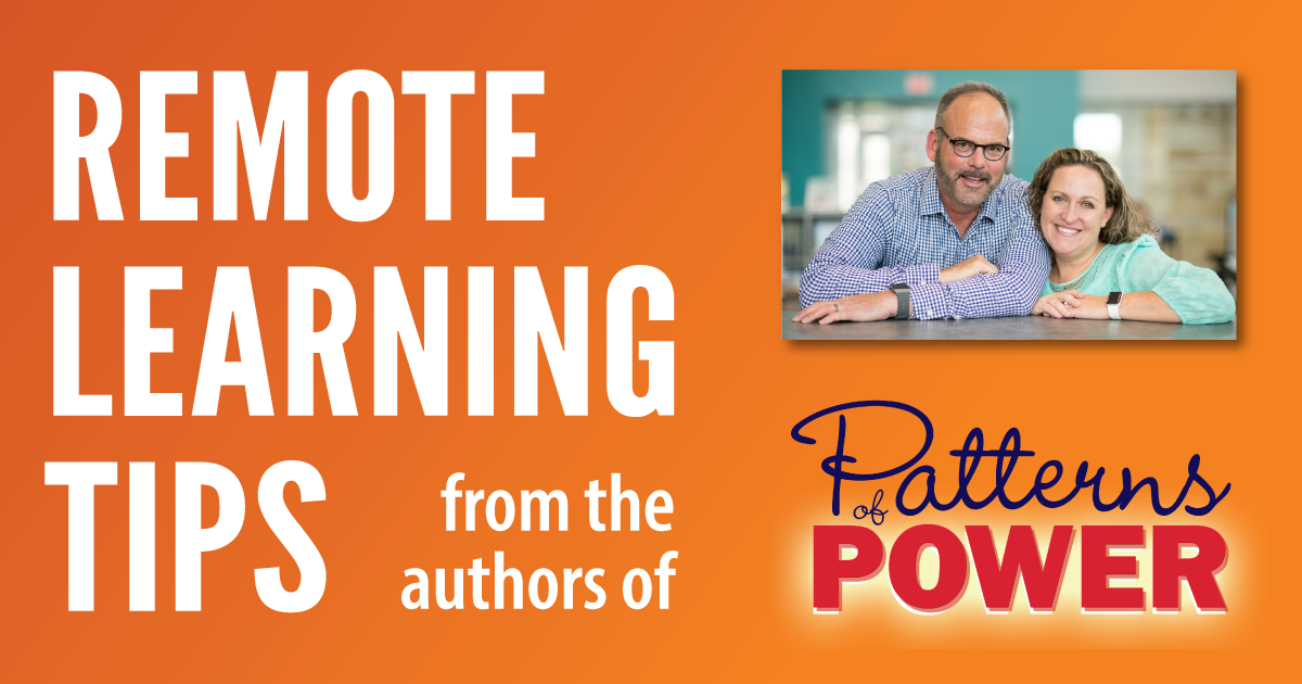 Remote Learning Tips from the Authors of Patterns of Power